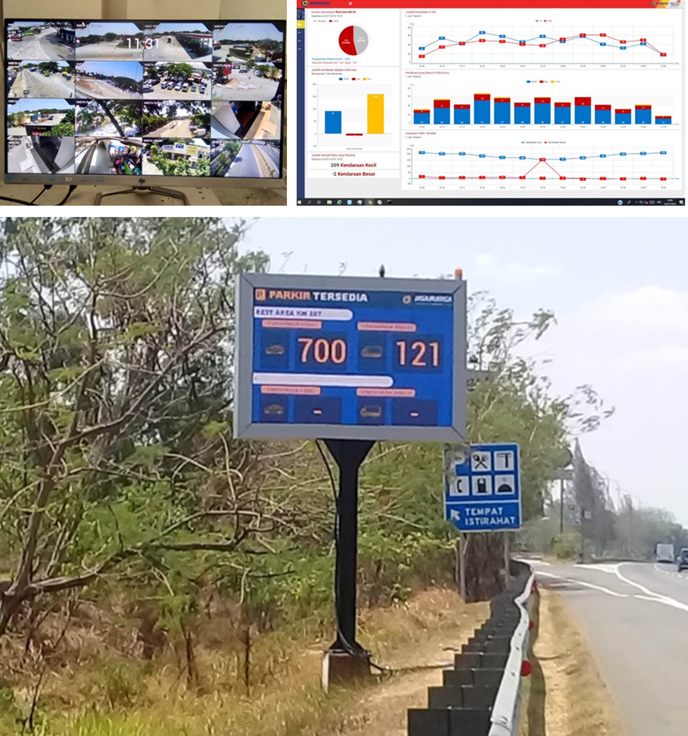 Rest Area Monitoring System (RAMS)